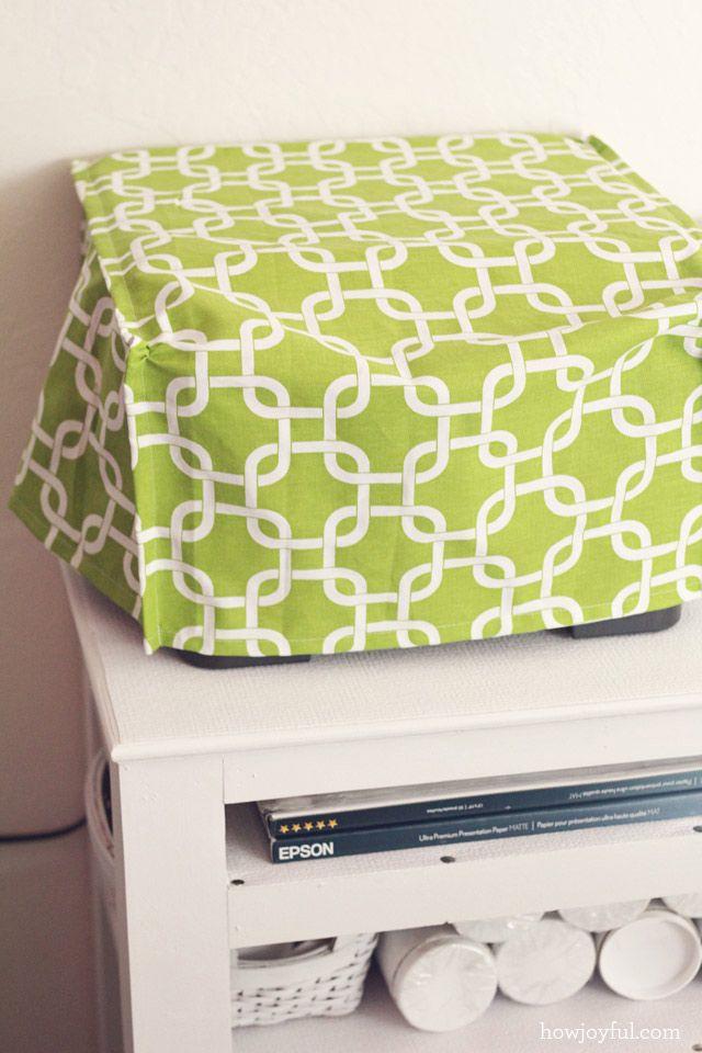 my shipping station diy sewing printer cover diy. Black Bedroom Furniture Sets. Home Design Ideas