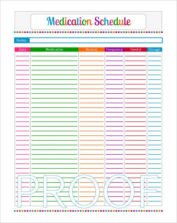 free medication administration record template excel - Yahoo Image