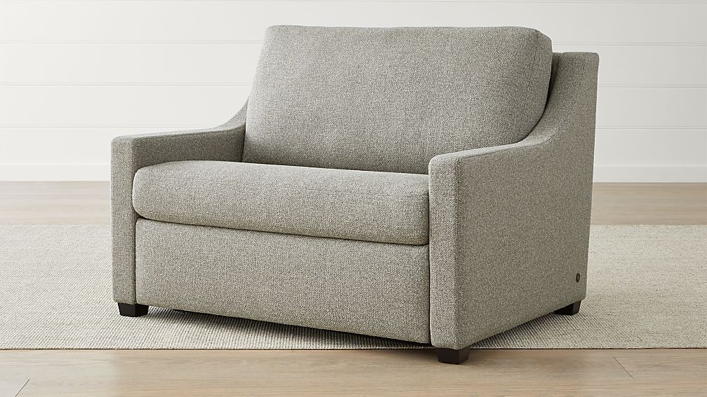 Perry Twin Sleeper Sofa Bed + Reviews Crate and Barrel