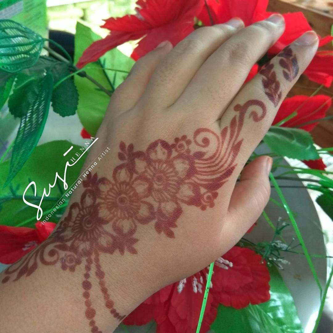 Mature stain ( warna henna setelah 24 jam dari perontokkan) Info