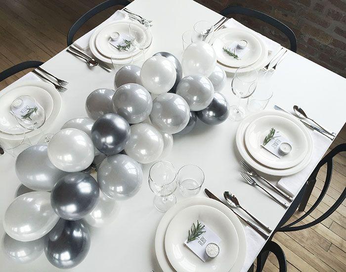 DIY Balloon Centerpiece (Design*Sponge)