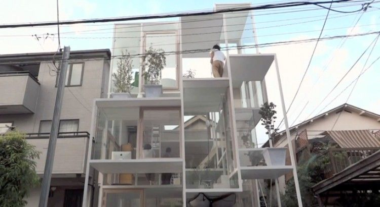 The spiral staircase house