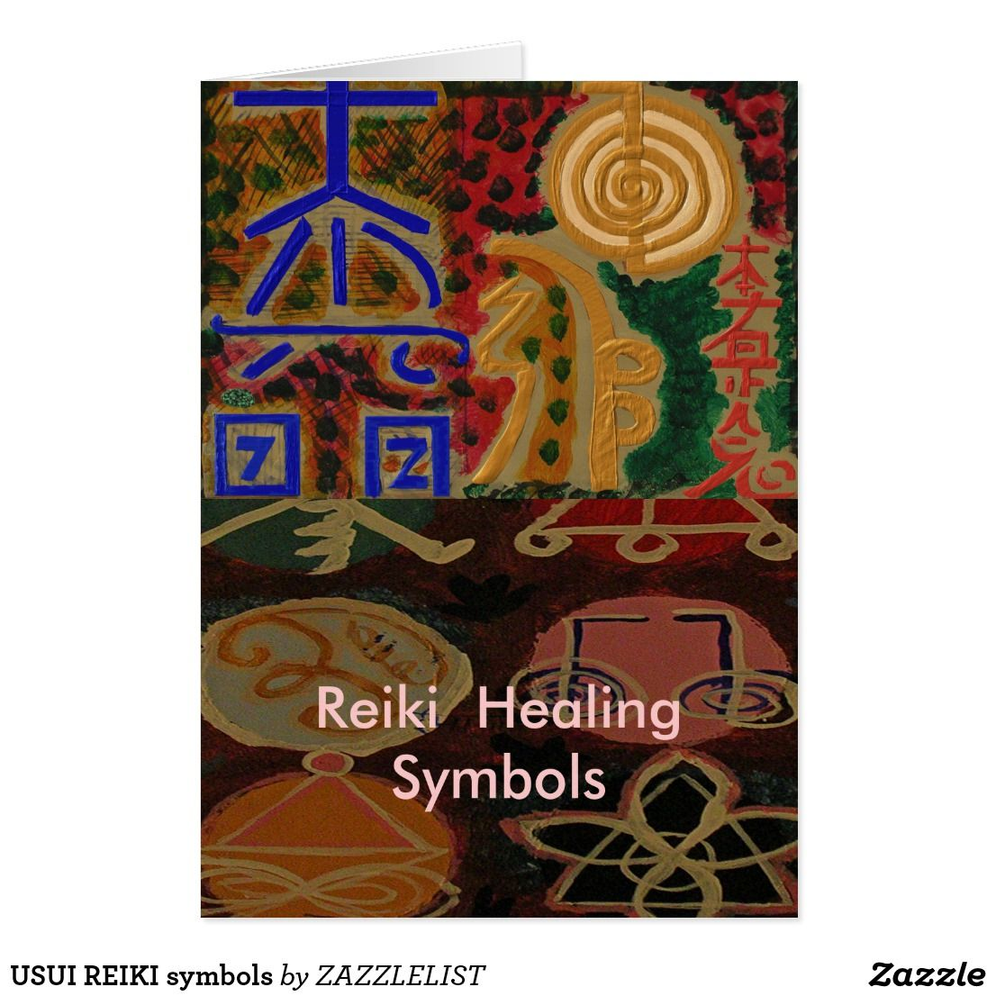 Usui reiki symbols card 101 zazzle pro favorite stores usui reiki symbols card biocorpaavc Image collections