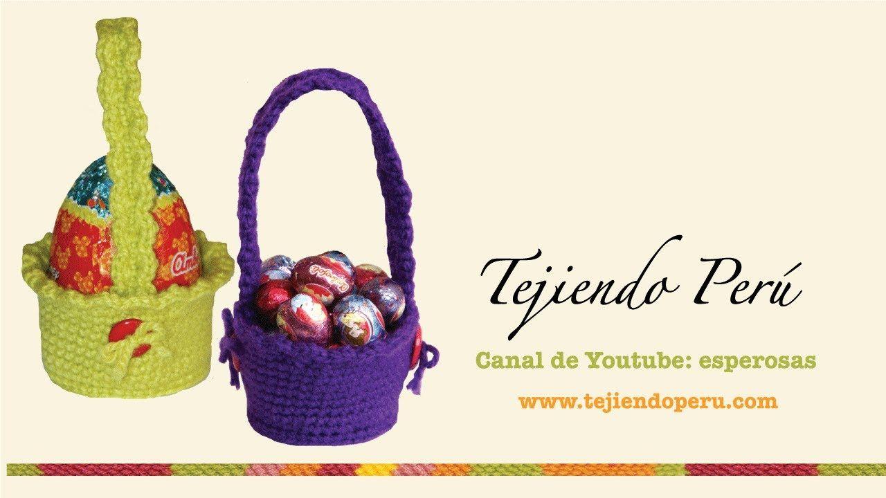 Canastas para huevos de Pascua tejidas en crochet (amigurumi ...