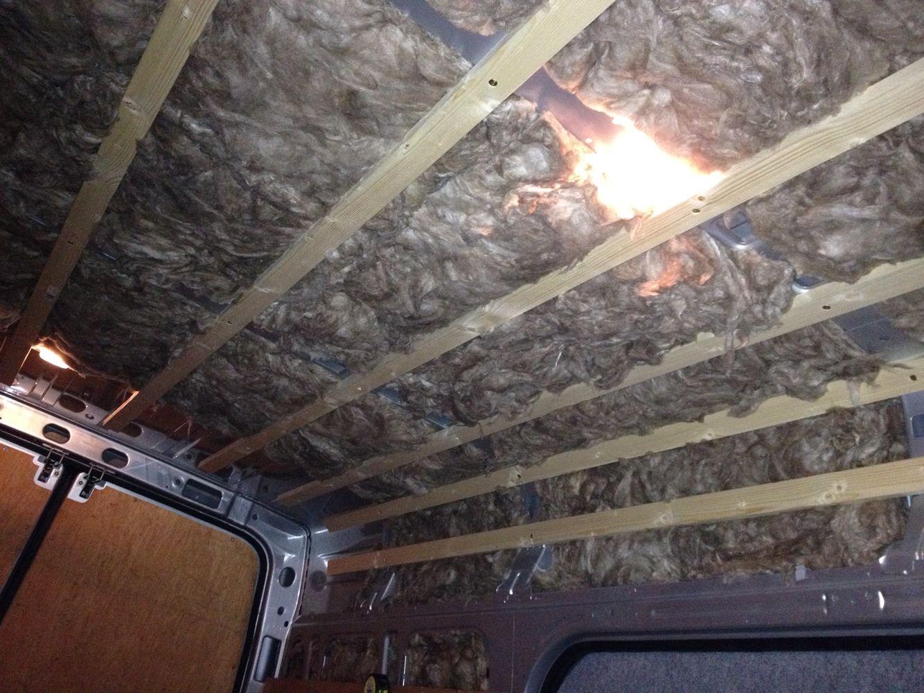 Camper Van Roof Insulation