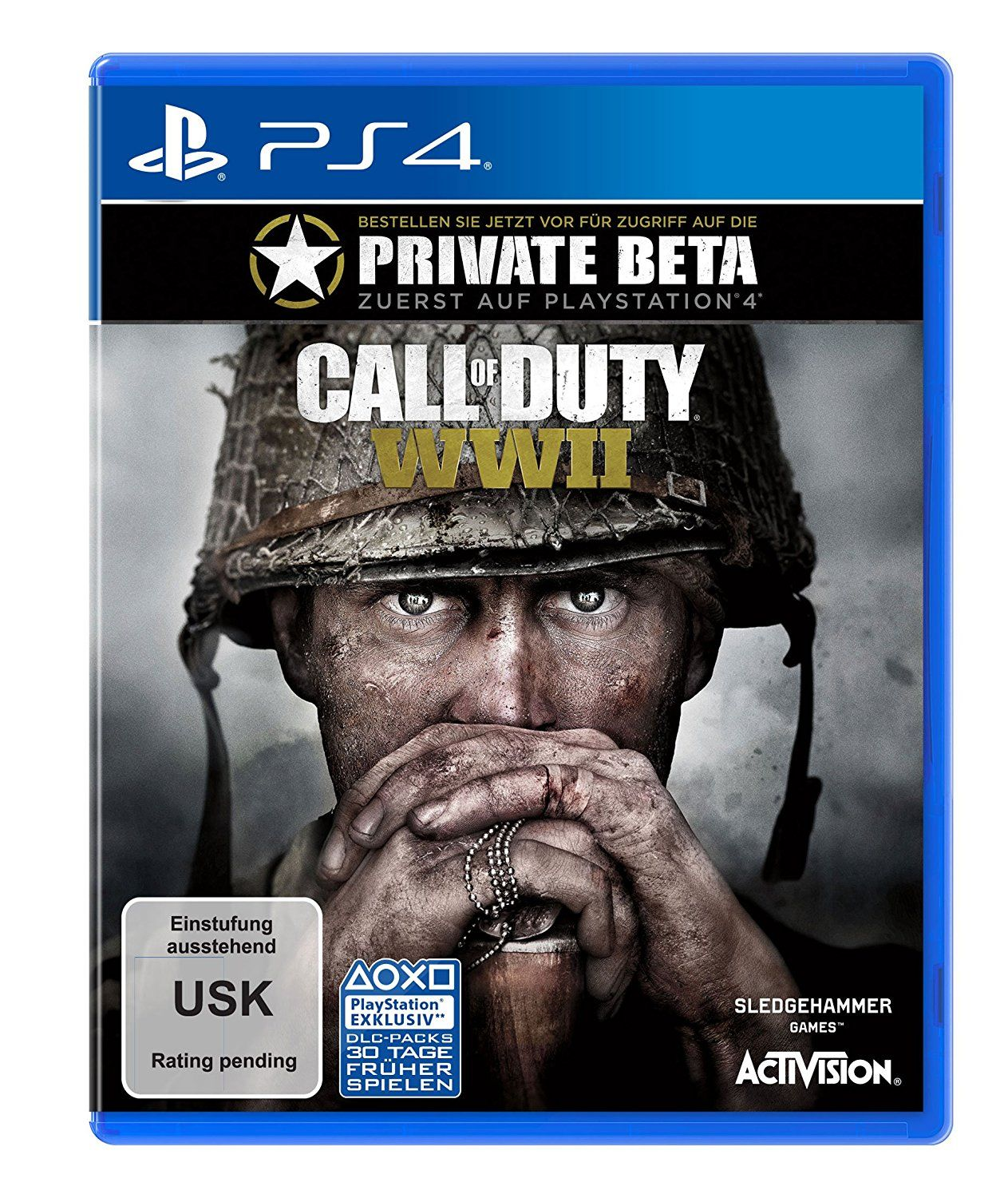 call of duty wwii standard edition playstation 4. Black Bedroom Furniture Sets. Home Design Ideas