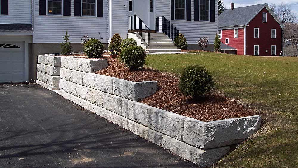 Homeowner Precast Products Shea Concrete Retaining Walls Retaining Wall Backyard