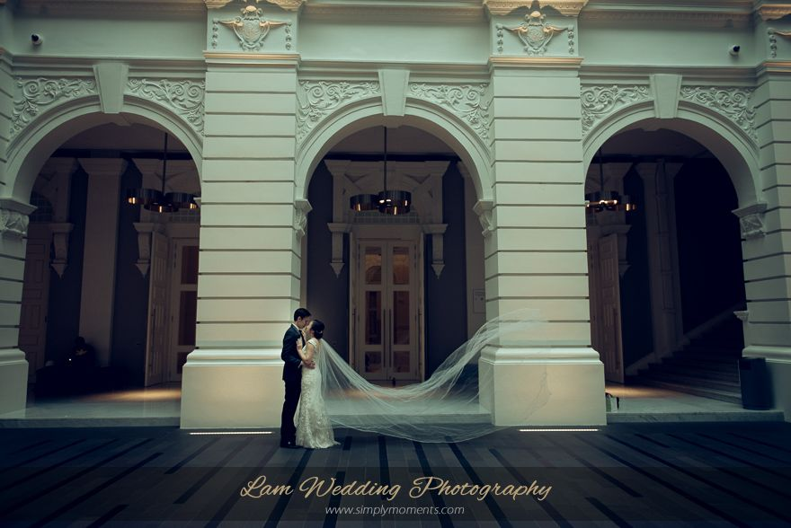 Wedding At Victoria Theatre And Concert Hall Singapore