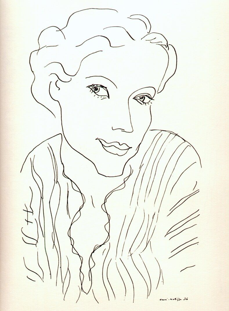 Line Drawing Matisse : Matisse drawings google search and others
