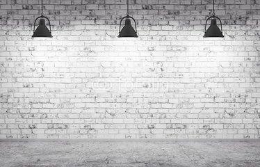 Szukaj Zdjęć Kategoria Zasoby Graficzne Concrete Floors Brick Wall Lamp