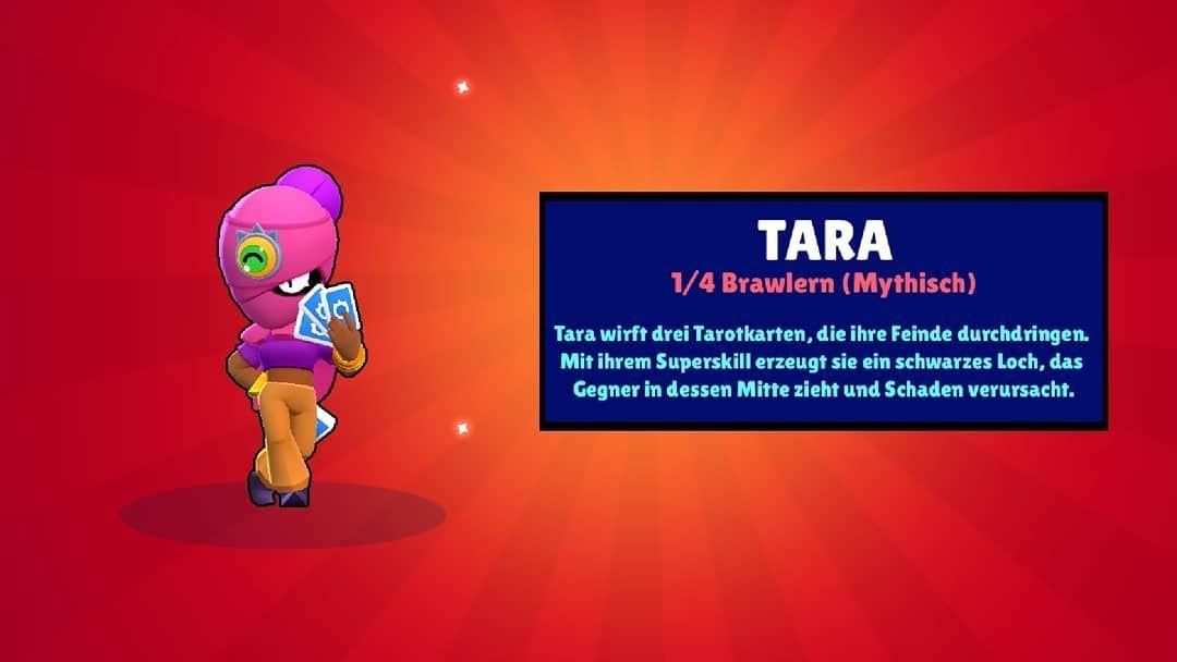 Endlich Tara Gezogen In Brawl Stars Brawlstars Black Hole Brawl Tarot Cards