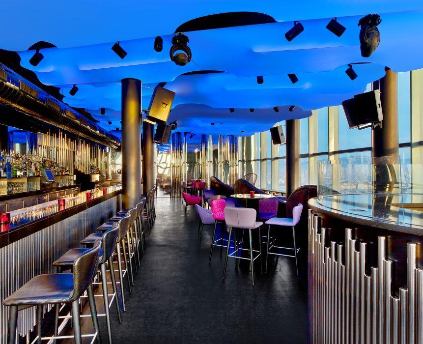 Cocktail Bar Night Club At W Barcelona Hotel Barcelona Hotels W Hotel Barcelona Eclipse Barcelona