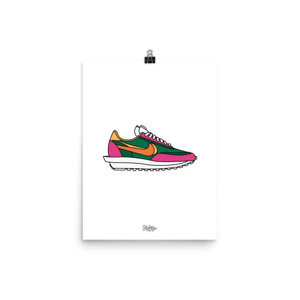 Destruir Intestinos Semejanza  Nike x Sacai Ldwaffle - wall art, streetwear poster, hypebeast art, fan  art, Jordan en 2020   Hypebeast, Etsy, Poster