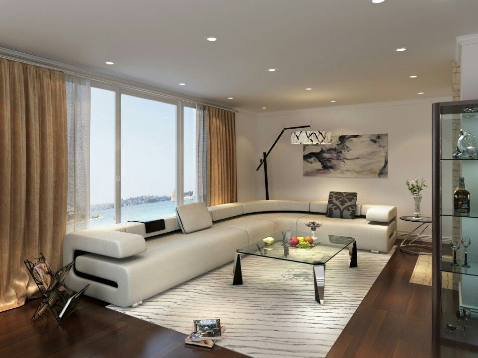 Very modern interior design living room indian home also wood frame pinterest bungalow interiors rh in