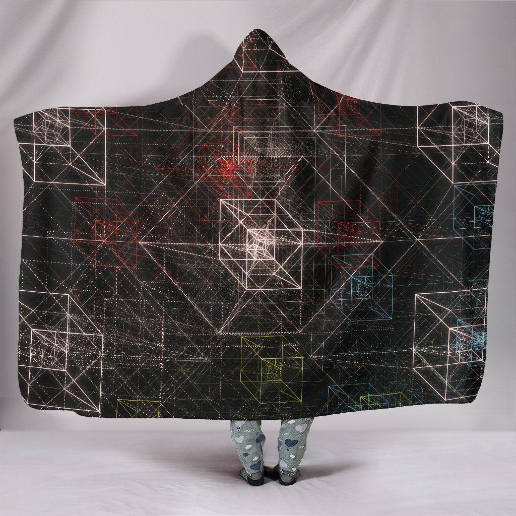 Photo of Tesseract – Hooded Blanket – Tesseract / Adult 80×60