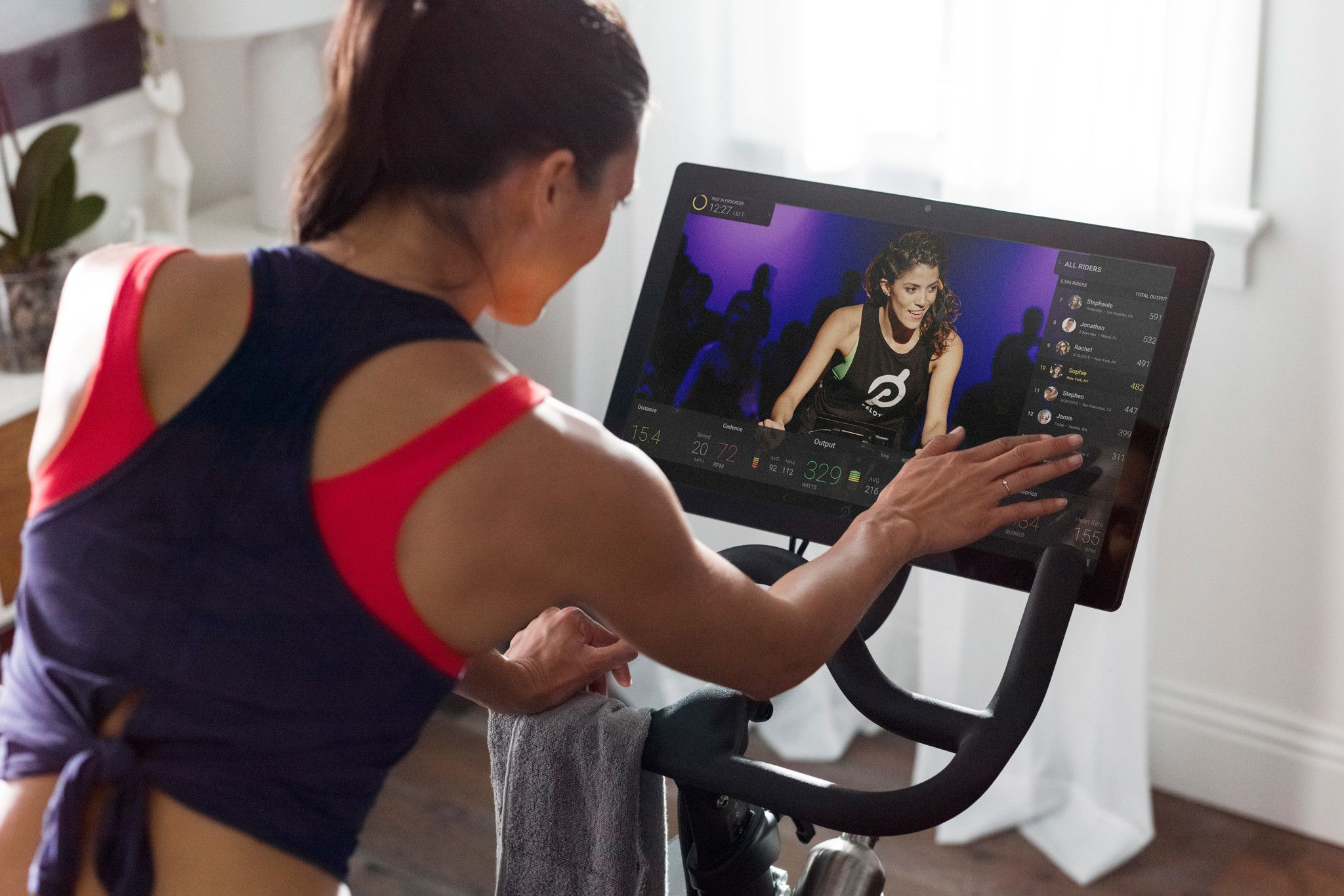 Can You Watch Tv On Peloton Gyms Spas And Hotels Embrace Virtual Exercise Why Peloton Is Moving Beyond Your Living Room Peloton Bike Gym Biceps Workout