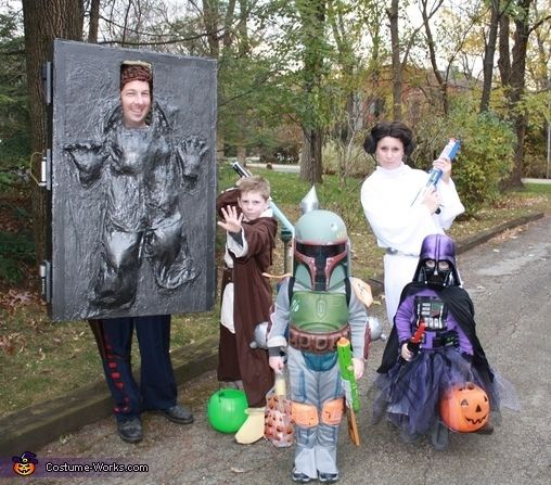 star wars halloween 47 fun freaky and fantastic family halloween costumes kids love looking great for halloween