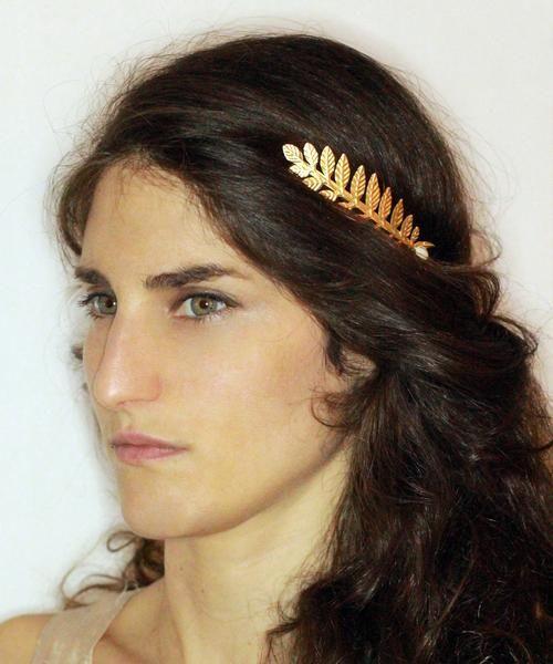 Pearl Athena Greek Goddess Headband   Anatomy: Heads in 2019
