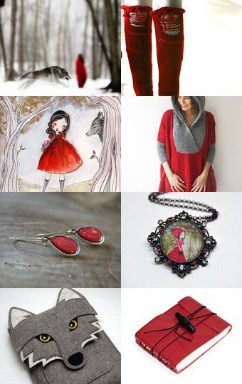 Into the Woods!  by Wicked and Wonder on Etsy--Pinned with TreasuryPin.com