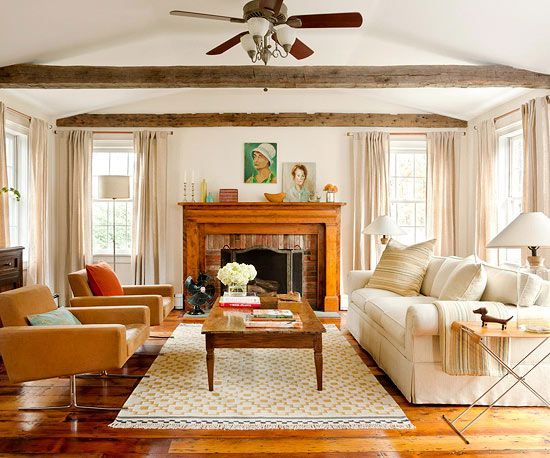 Create a warm and inviting atmosphere in any room of your home with one of these colorful looks: http://www.bhg.com/decorating/color/schemes/cozy-color-schemes-for-every-room/?socsrc=bhgpin011715honeyandcream&page=10