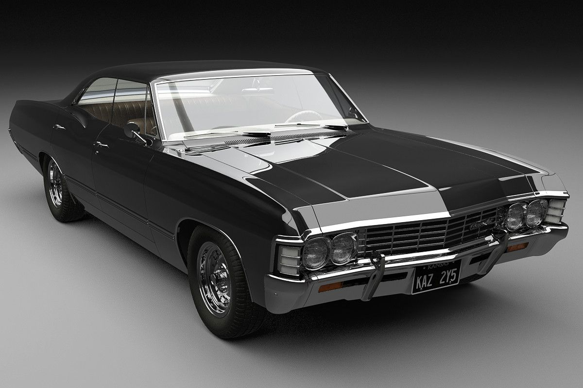Http Www Turbosquid Com 3d Models Chevrolet Impala 1967 3d Obj