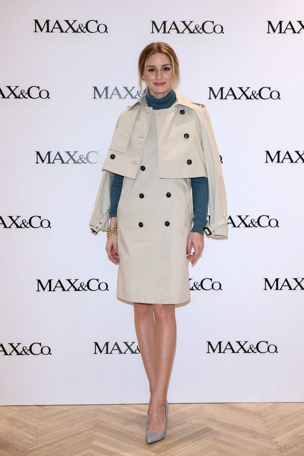 Olivia Palermo attending Max&Co. event