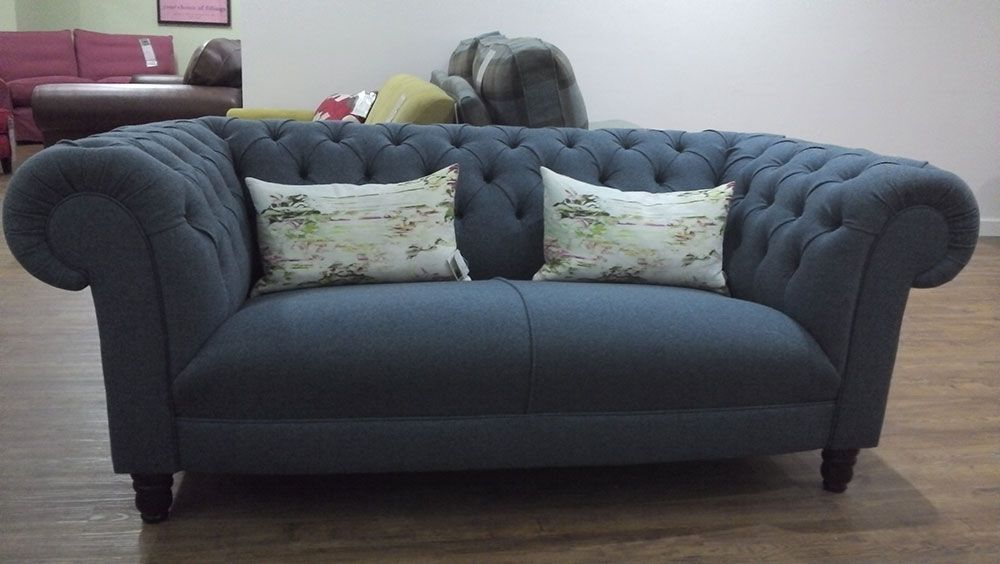 Grande dame small sofa in earth air force httpwww