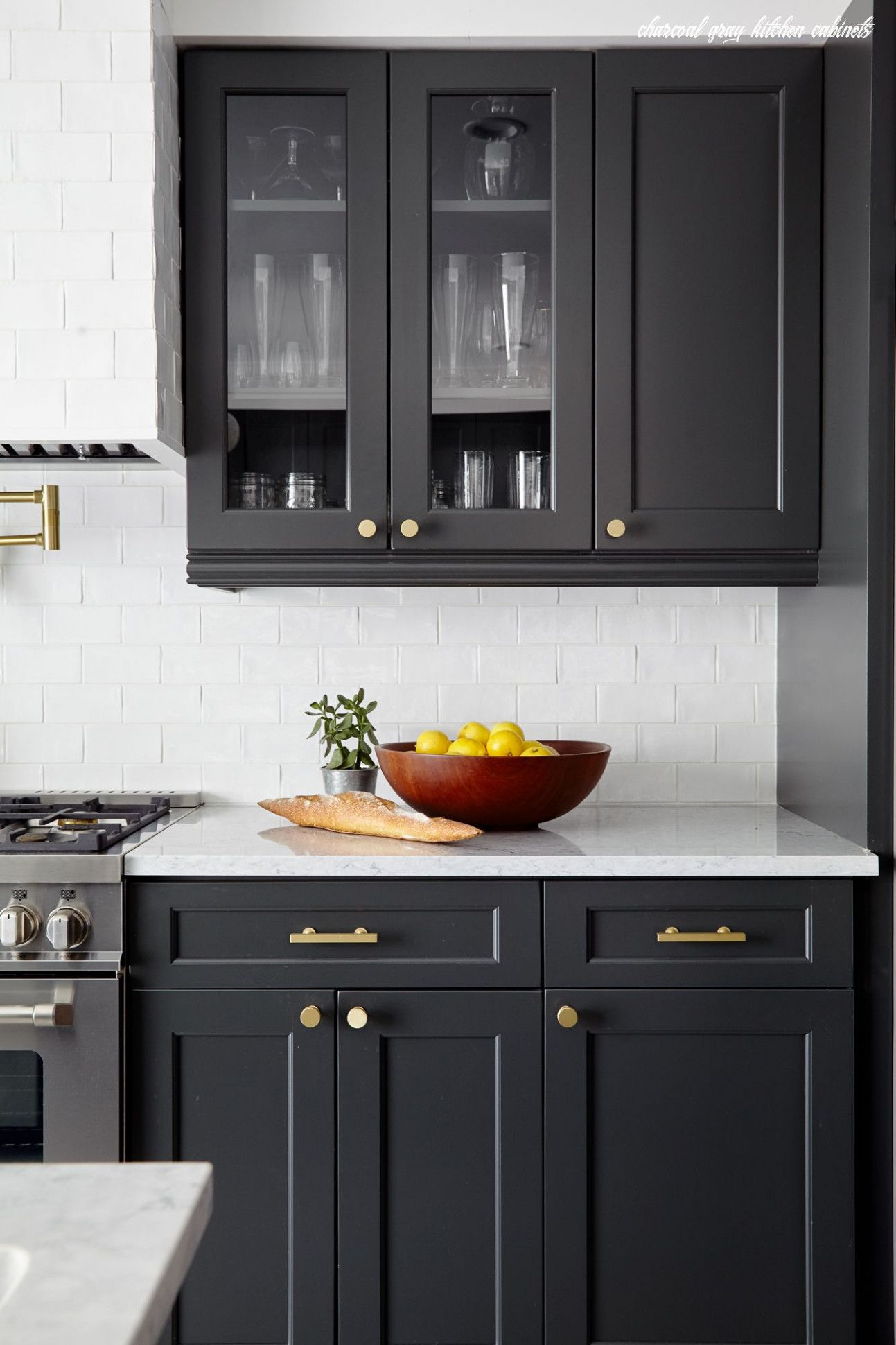Five Things Nobody Told You About Charcoal Gray Kitchen Cabinets In 2020 Glazed Kitchen Cabinets Kitchen Remodel Small Grey Kitchen Cabinets