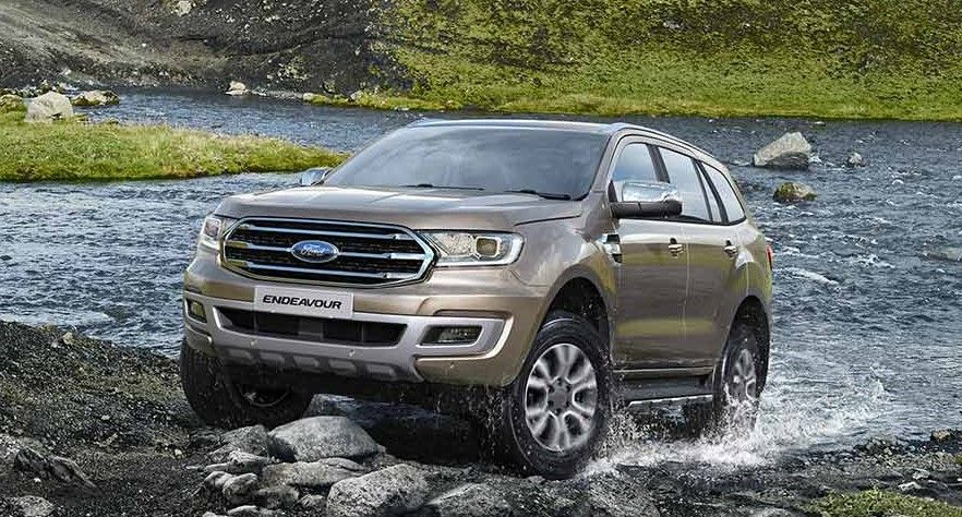 Bs6 Ford Endeavour 2020 Launched In 2020 Ford Endeavour Ford