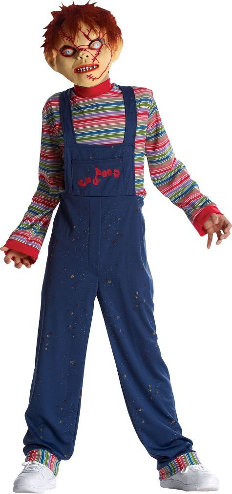 Boys Chucky Costume - Childu0026#39;s Play - Party City | dream bedroom | Pinterest | Chucky costume ...