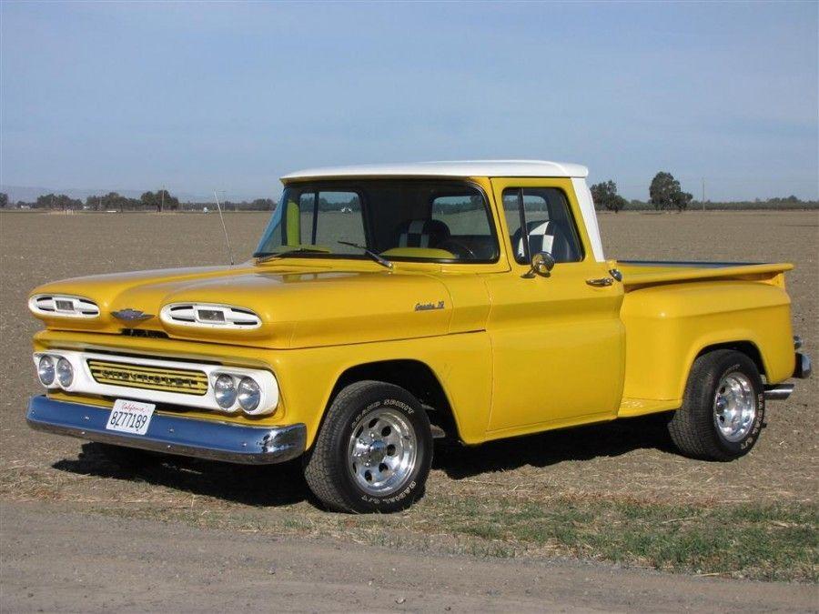 ✿1961 Chevrolet Apache 10 Stepside Pick-Up✿ | CHEVY TRUCKS ...