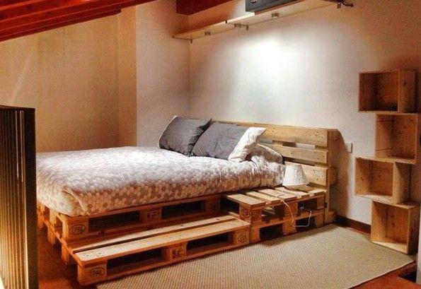 habitacion palets Ideas for the House Pinterest Pallets - palets ideas