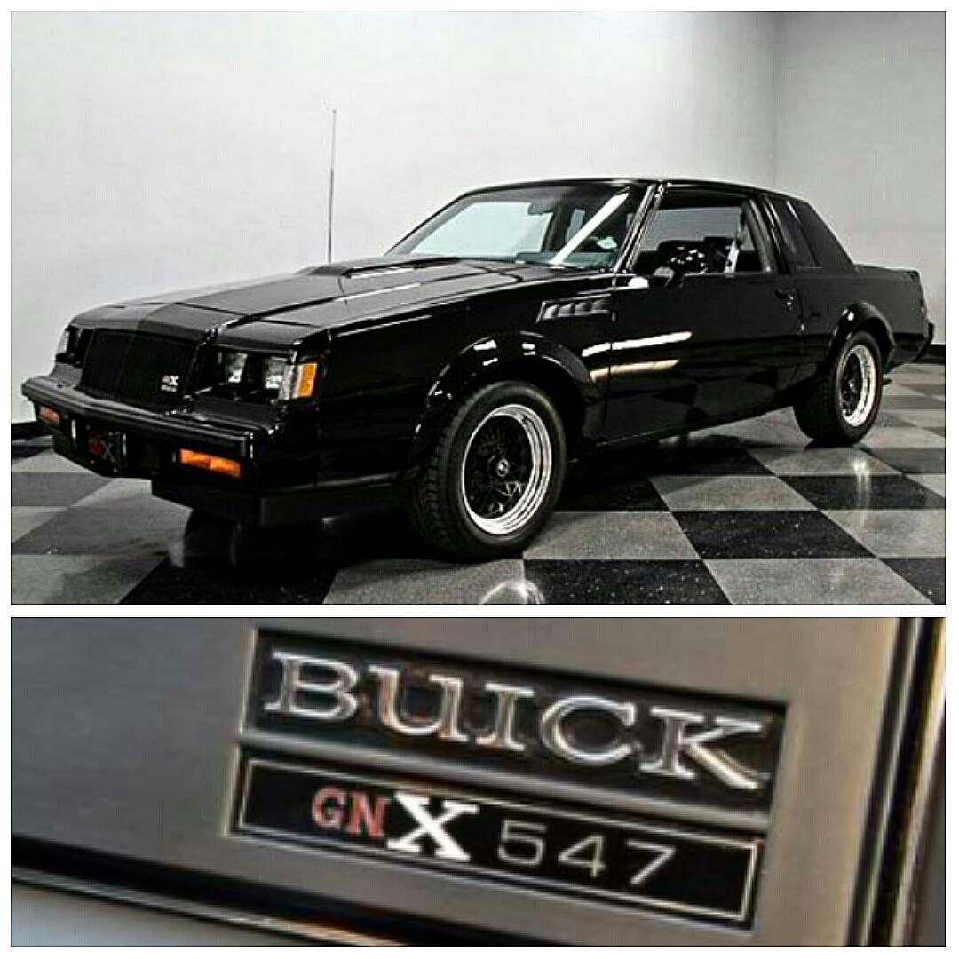 What a classic buick gnx 547 3 8l v6 turbo buick buickgnx gnx