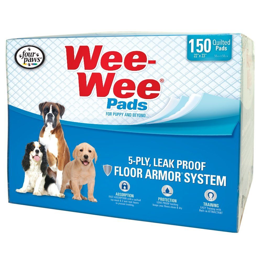 Four Paws WeeWee Puppy Housebreaking Pads