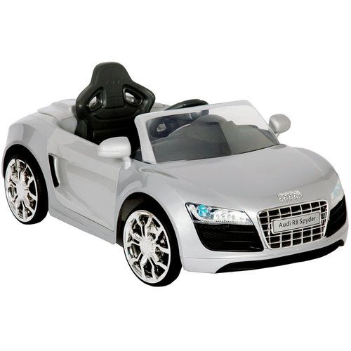 V Audi R Apollo Car In Silver Xmas Pinterest Xmas - Audi r8 6v car