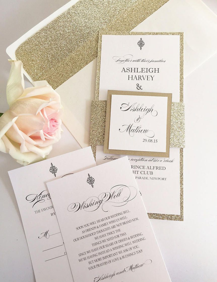 Mela and Ivy Designer Wedding Invitations | DIY Wedding Invitations ...
