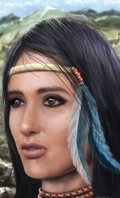 Native American Woman | Hair styles, Native american ...