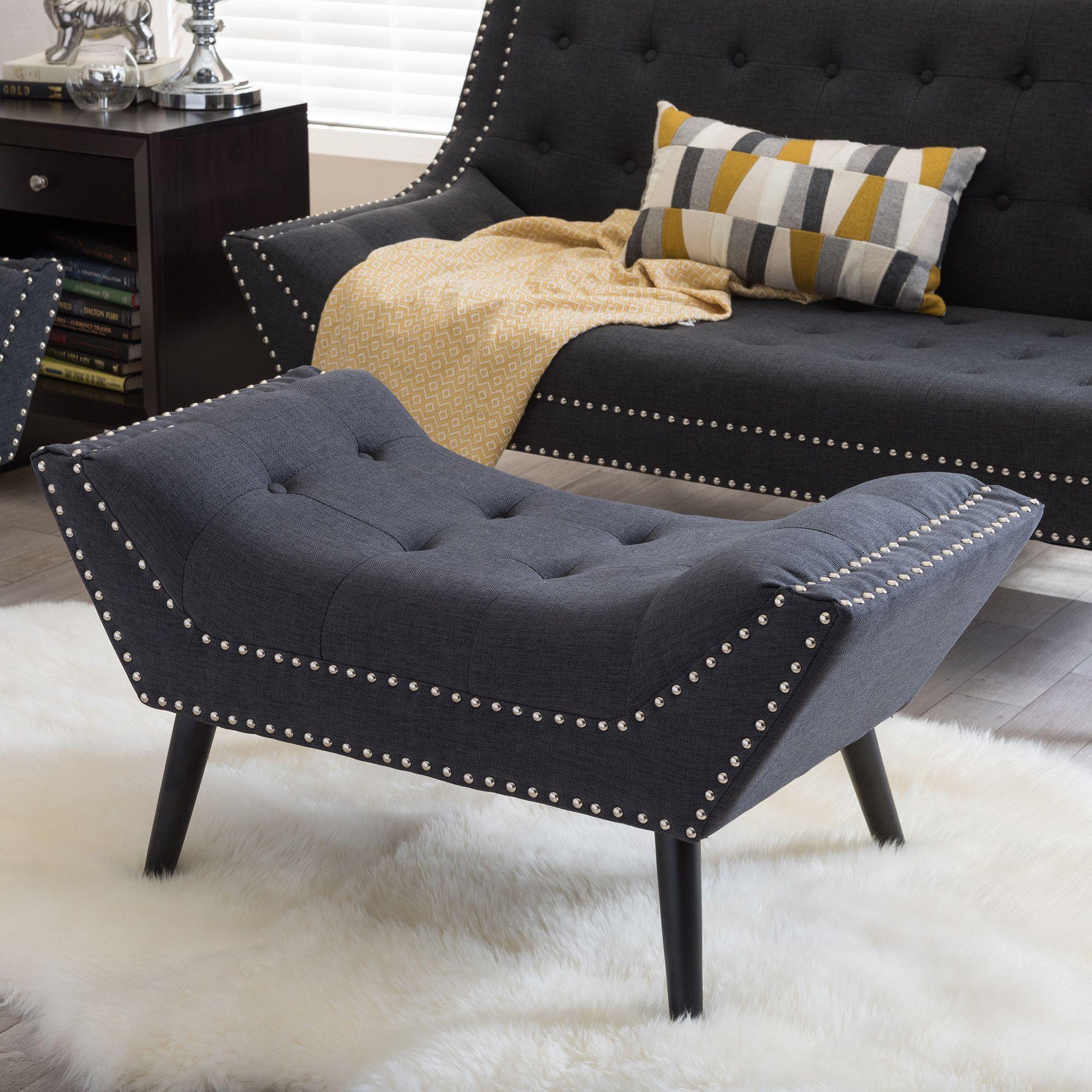 Nice Wholesale Interiors Baxton Studio Tamblin Bench U0026 Reviews   Wayfair