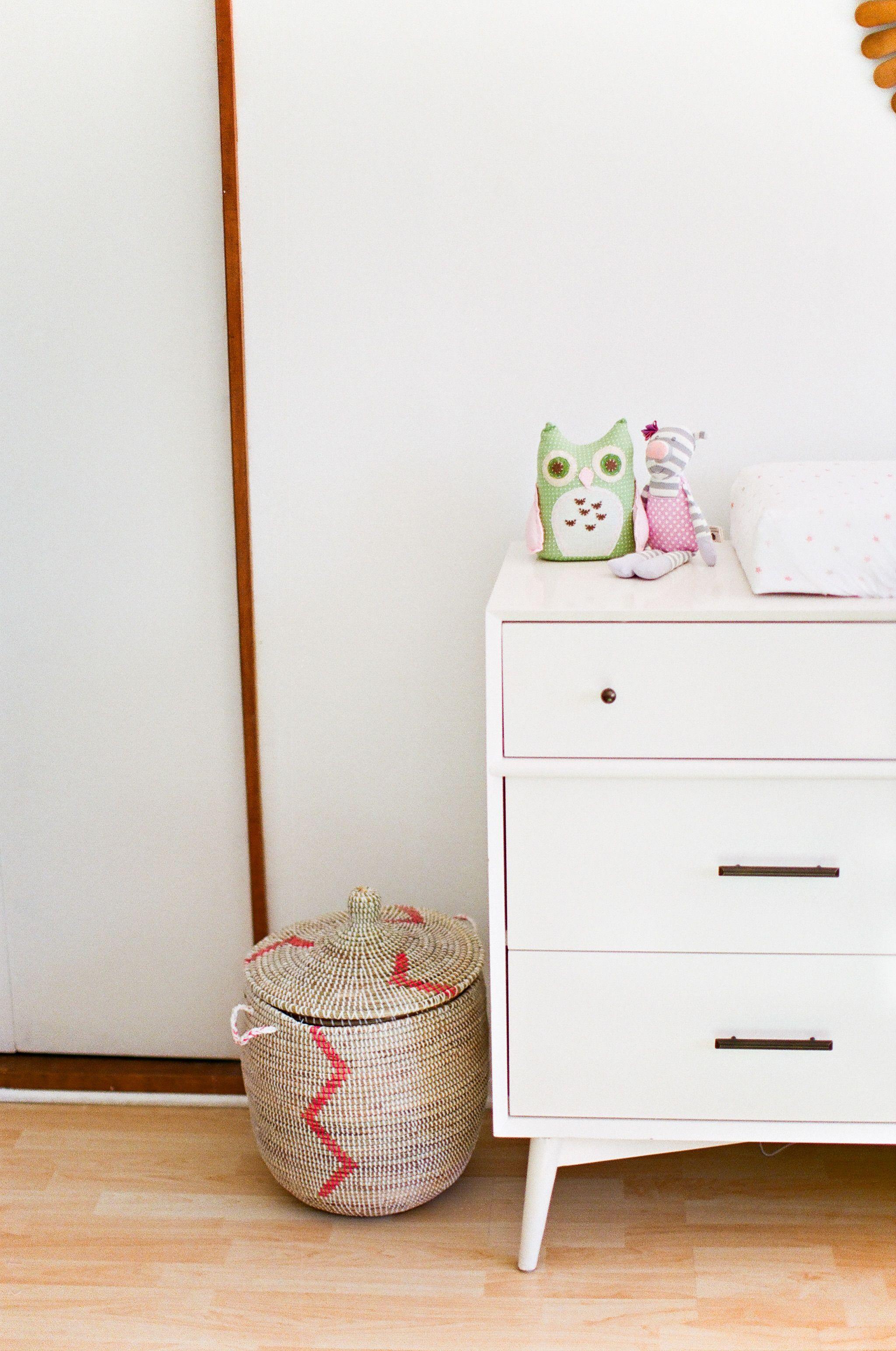 A Mid-Century Modern Nursery   Childrens dresser ...