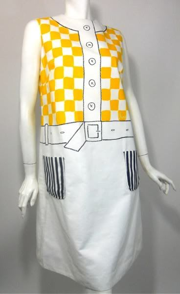 Vintage 1960s Vera Neumann dress  via Dorotheasclosetvintage.com