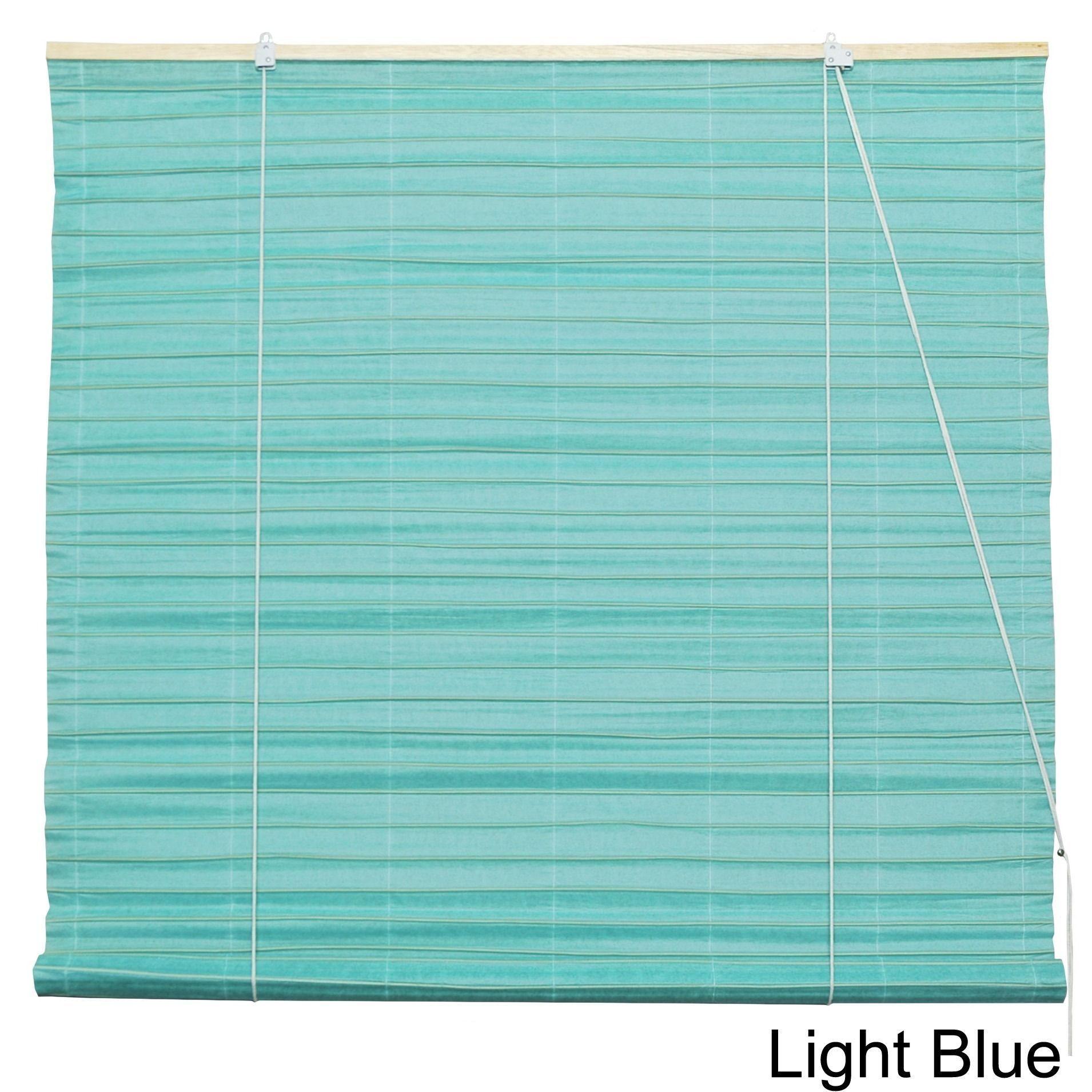Handmade shoji paper inch rollup blinds china light blue