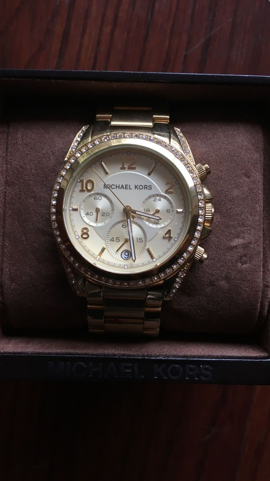 Product Posted By Rylie Troxell In Myrtle Beach Sc Michael Kors Chronograph Watch Mk