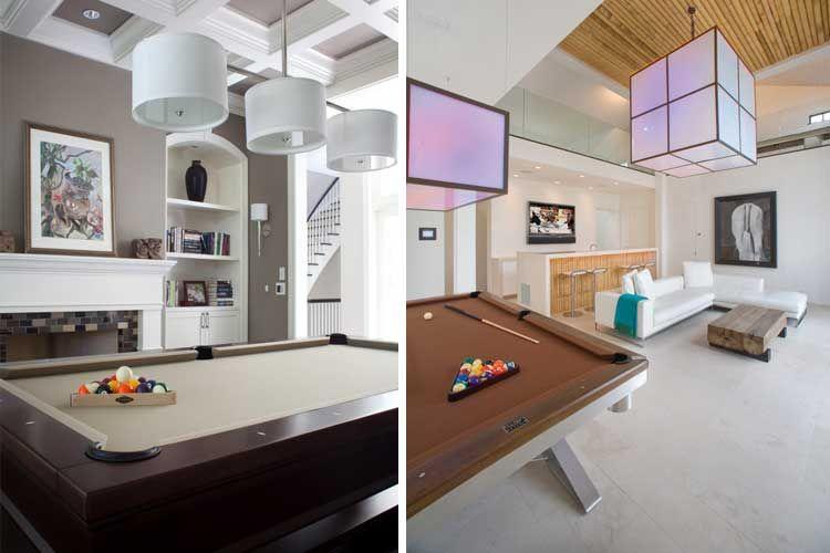 Ideas para decorar una sala de billar en casa hogar diseños - ideas para decorar la sala