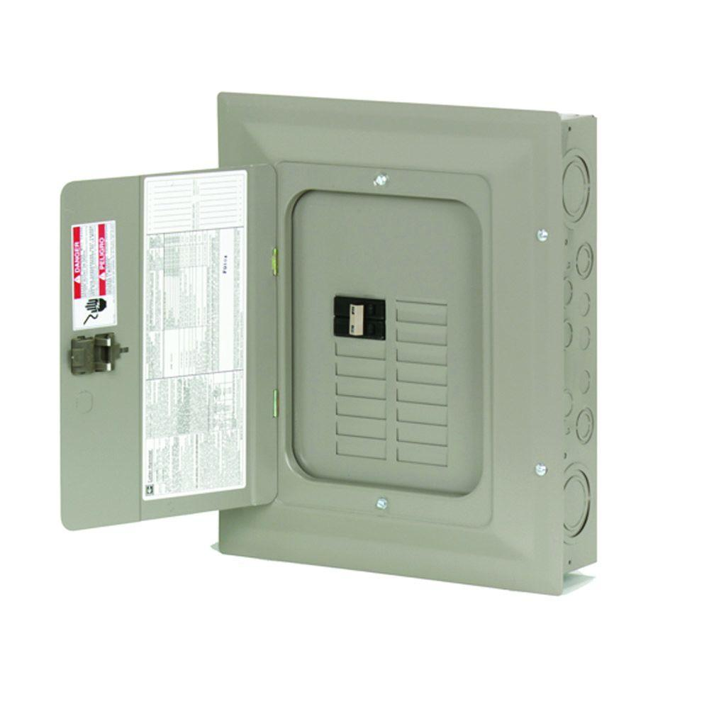 Eaton Ch 100 Amp 14 Space 14 Circuit Indoor Main Breaker Loadcenter With Cover Circuit Electrical Breakers Maine