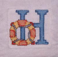 MBW quilts en andere stofzaken: 3. Quilt met borduurwerk /Quilt With Cross Stitch...