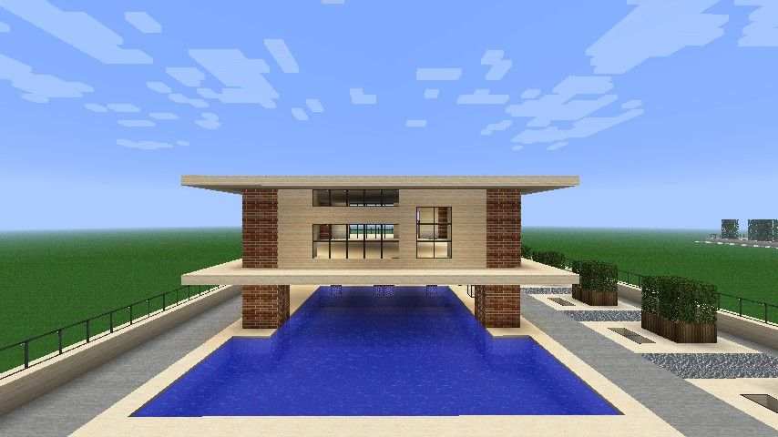 16 perfect modern mansion designs   modern mansion, minecraft