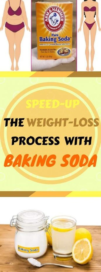 use baking soda to speed-up the weight-loss process - | eten en