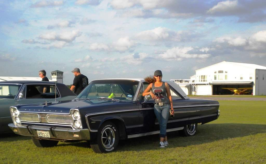 Mrs Riggs and her 66 Plymouth Fury (With images