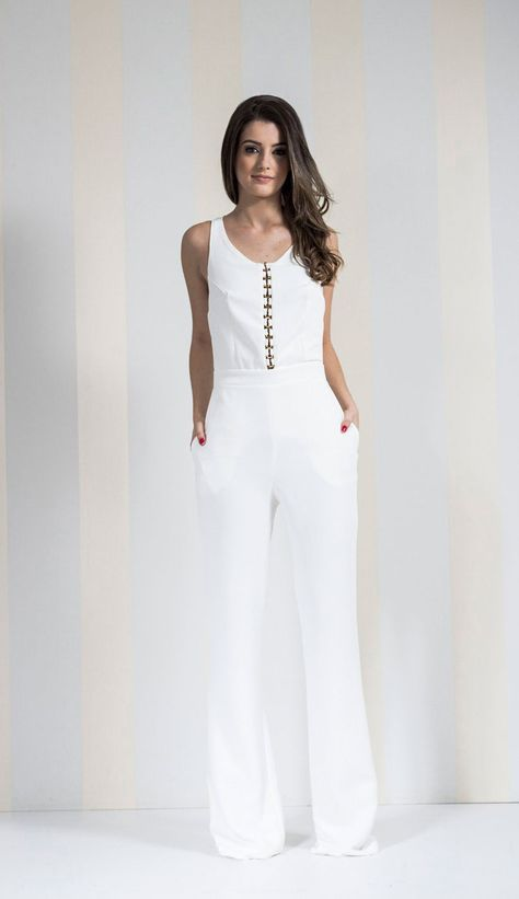 6b37ebbd9 MACACÃO BIASES OFF WHITE - MAC2856-99 | Skazi e Skclub, Moda feminina, roupa  casual, vestidos, saias, mulher moderna