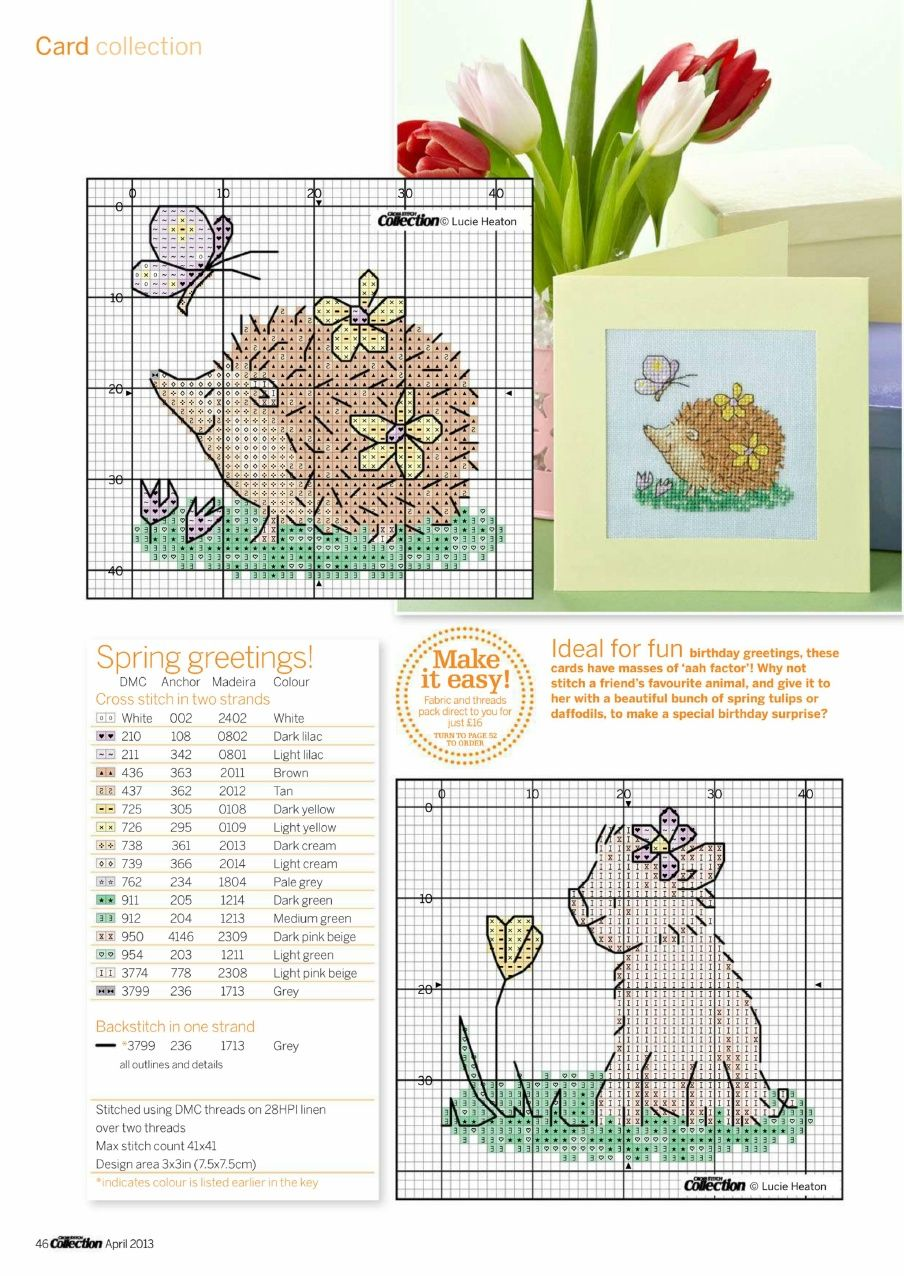 Cross Stitch Collection 2013-04